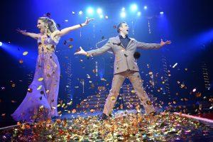 Roncalli's Apollo Varieté Düsseldorf präsentiert in Viva Las Vegas 2: Oksana & Vadim (Foto ©Ralf Schütt) / ras0066_fotograf_ralf_schuett