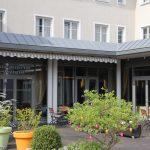 Best Western Stadtpalais Wittenberg: Gartenterrasse