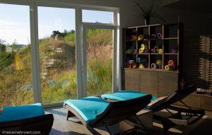 Unser Ruheplätzchen im Relaxium des Wellnesshotels Bayerischer Wald