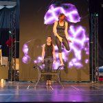 GOP-Probehalle Hannover: Elektro - Ein Kunstwerk (Samira Reddmann / Julie Wolff) /GOP Varieté-Theater Essen: Elektro - Ein Kunstwerk