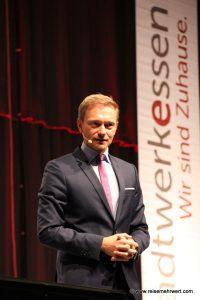 Grugahalle: Haus- und Grund-Kongress (Gastredner Christian Lindner)