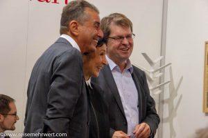 Michel Friedman, Renan Demirkan / Ralf Stegner_Frankfurter Buchmesse 2018