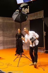 photokina 2018 (Harald Kröher und Model Tanja Brunner)
