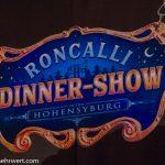 Roncalli Dinnershow in der Hohensyburg 2018/2019