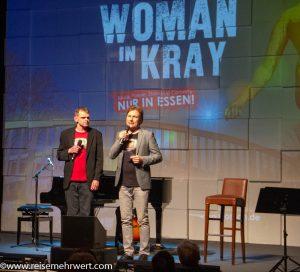Christian Hirdes und Ludger K. feiern mit_No Woman in Kray_Premiere im GOP Varieté-Theater Essen