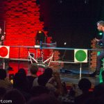 Andreas Wessels und Aron Eloy (Ping-Pong-Comedy)