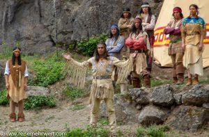 Winnetou III - Winnetou im Indianerdorf