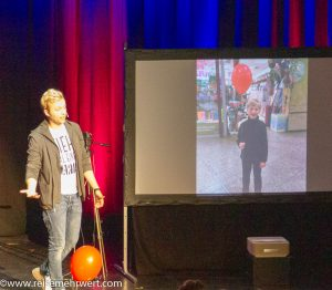 Der Weltmeister der Zauberkunst 2018 Marc Weide zu Gast im GOP Essen_Der rote Luftballon