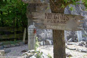 Elspe Festival - Der alte Friedhof Boot Hill