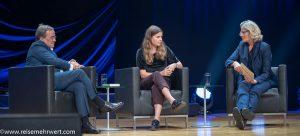 Armin Laschet_Luise Neubauer_Veranstaltung Klimakrise_Frankfurter_Buchmesse_2019