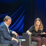 Armin Laschet_Luisa Neubauer_Veranstaltung Klimakrise_Frankfurter_Buchmesse_2019