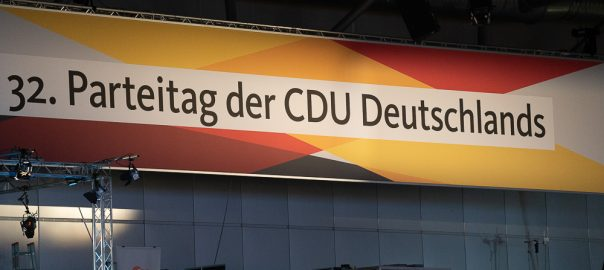 CDU Parteitag 2019 im Congress Center Leipzig