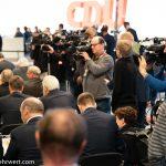 32. CDU Parteitag 2019 im Congress Center Leipzig