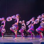 Chinesische Reishut-Jongleurinnen_Chinesischer Nationalcircus_Weihnachtscircus Metropole Ruhr_Grugahalle Essen_2019_premiere