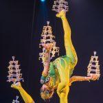 Balance-Akrobatik par excellence_Chinesischer Nationalcircus_Weihnachtscircus Metropole Ruhr_Grugahalle Essen_2019_premiere