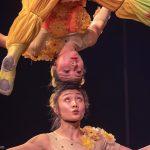 Partner-Akrobatik mit tanzenden Tellern_Chinesischer Nationalcircus_Weihnachtscircus Metropole Ruhr_Grugahalle Essen_2019_premiere