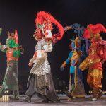 Chinesische Falbelwesen_Chinesischer Nationalcircus_Weihnachtscircus Metropole Ruhr_Grugahalle Essen_2019_premiere