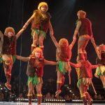 Chinesische Akrobaten-Mauer_Chinesischer Nationalcircus_Weihnachtscircus Metropole Ruhr_Grugahalle Essen_2019_premiere