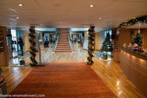 Lobbybereich der MS Rhein Melodie_adventskreuzfahrt-2019_nicko-cruises