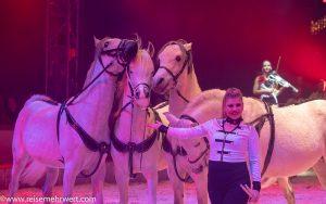 Pferdedressur mit Junior-Chefin Stephanie Probstgelsenkirchener_weihnachtscircus_2019