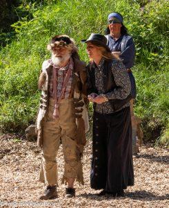 Sam Hawkens und Rosalie Ebersbach-elspe-festival-der-oelprinz-karl-may-festspiele-2021