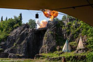 Die Explosion der Ölquelle-elspe-festival-der-oelprinz-karl-may-festspiele-2021