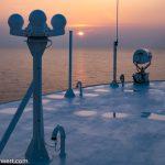 nicko-cruises-hochseekreuzfahrt-world-voyager-4-tage-kiel-flensburg-wismar-kiel-Sonnenuntergang-2021