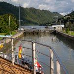 Flusskreuzfahrt-MS-Albertina-2021 - Donauschleuse Jochenstein
