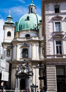 Flusskreuzfahrt-MS-Albertina-2021 - Peterskirche Wien