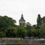 Flusskreuzfahrt-MS-Albertina-2021 - Wasserturm auf der Magareteninsel bei Budapest
