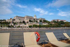 Flusskreuzfahrt-MS-Albertina-2021 - Blick auf Burg Budapest