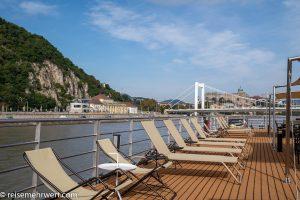 Flusskreuzfahrt-MS-Albertina-2021 - Blick auf die Budapester Elisabethbrücke