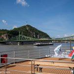 Flusskreuzfahrt-MS-Albertina-2021 - Blick auf die Freiheitsbrücke Budapest