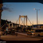 Flusskreuzfahrt-MS-Albertina-2021 - Budapester Elisabethbrücke bei Nacht
