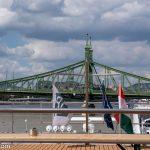 Flusskreuzfahrt-MS-Albertina-2021 - Blick auf die Budapester Freiheitsbrücke