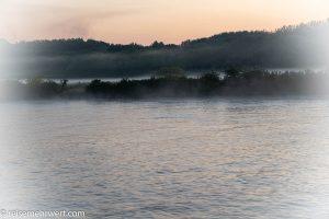 Flusskreuzfahrt-MS-Albertina-2021 - Morgenstimmung auf der Donau