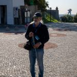Flusskreuzfahrt-MS-Albertina-2021 - Stadtführer Peter auf Burg Bratislava