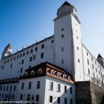 Flusskreuzfahrt-MS-Albertina-2021 - Burg Bratislava