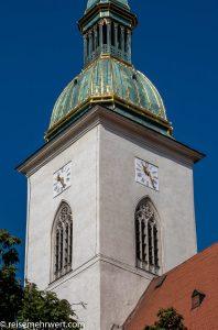 Flusskreuzfahrt-MS-Albertina-2021 - Kathedrale des Heiligen Martin in Bratislava