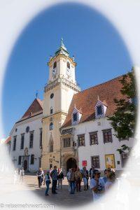 Flusskreuzfahrt-MS-Albertina-2021 - Das Alte Rathaus von Bratislava