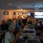 Flusskreuzfahrt-MS-Albertina-2021 - Präsentation der Eisbombe am Abschiedsabend